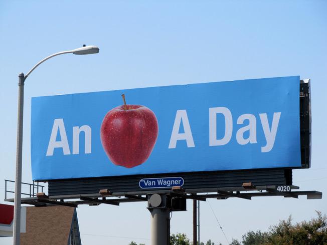 Just like a Billboard